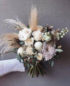 newcastle floral design q+a: Small Wedding Bouquets, Fall Wedding Flowers, Wedding Flower Arrangements, Bride Bouquets, Fall Flowers, Flower Bouquet Wedding, Floral Wedding, Dusty Rose Wedding, Wedding Decorations