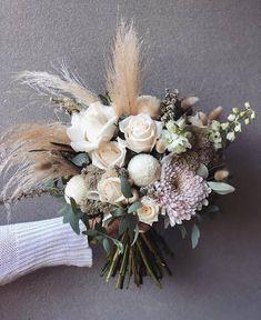 newcastle floral design q+a: Small Wedding Bouquets, Bride Bouquets, Flower Bouquet Wedding, Dusty Rose Wedding, Floral Wedding, Floral Centerpieces, Flower Arrangements, Flower Decorations, Wedding Decorations