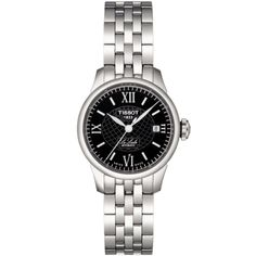 Tissot Women's 'Le Locle' Steel Dial Automatic Watch