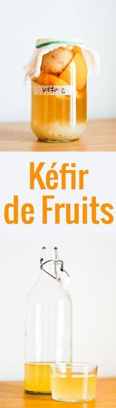 Des explicaations claires et précises pour faire votre propre kéfir de fruits, une boisson fermentée délicieuse et saine à base de fruits.