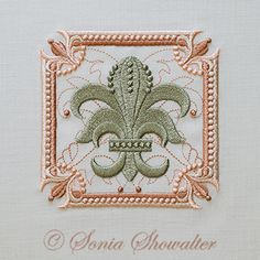 Fleur de Lis and Pearls: Sonia Showalter