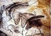 Chauvet Cave Art: The Chauvet Cave is one of the most famous prehistoric rock art sites in the world. With one exception, all of the cave art paintings have been dated between & years ago. Lascaux Cave Paintings, Chauvet Cave, Horse Paintings, Art Pariétal, Paleolithic Art, Art Rupestre, Cave Drawings, Great Works Of Art, Horses