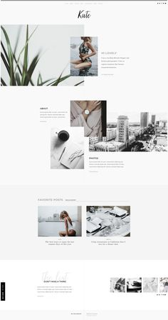 WordPress Minimal Theme Website Templates from ThemeForest Web Design Trends, Homepage Design, Web Design Tips, Interior Design Websites, Flat Design, Website Layout, Blog Layout, Layout Design, Web Layout
