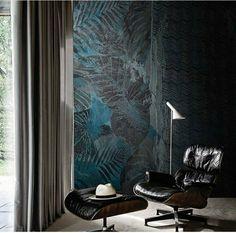 Interior Wallpaper, Home Wallpaper, Wallpaper 2016, Tropical Wallpaper, Contemporary Wallpaper, Business Furniture, Acoustic Panels, Deco Furniture, Fashion Room