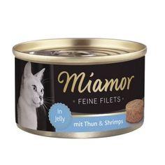 Miamor Delicious Filets  Yetişkin kediler için tamamlayıcı mama Jöle içinde lezzetli fileto et. Özenle seçilmiş, yüksek kaliteli içeriklerle üretilmiştir