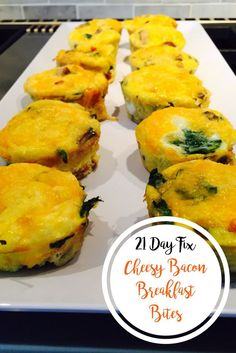 21 Day Fix Cheesy Ba