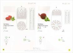 여러가지 채소들 도안 (코바늘) : 네이버 블로그