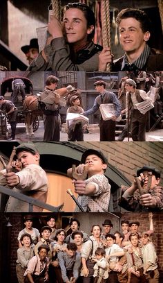 The Newsies (1992) I fell in love with all the cute young guys in this movie at age 16. The singing and dancing are awesome, but sadly the acting and writing are only average.