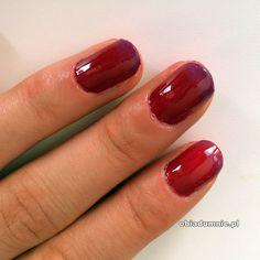 delikatny manicure ombre