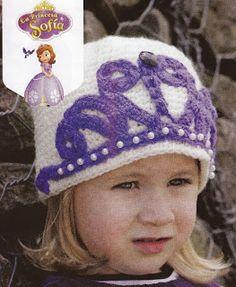 Crochet para Ti: #04 - La princesa Sofia - Gorro Crochet