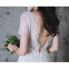 2017 Off White Lace Bridesmaid Dress Short Sleeve Wedding