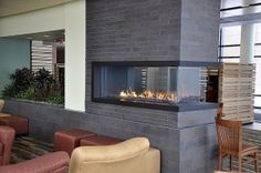 Saginaw Valley State University - Saginaw, MI - Fireplace Design Center