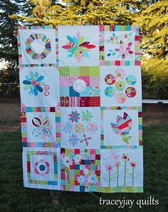 a very pretty quilt top - traceyjay quilts