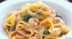 Italian Tagliatelle Recipe  this looks amazing and quick too~