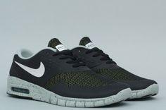 e4717a7ebeb5 Nike SB Eric Koston 2 Max Black   White - Base Grey - Venom Green