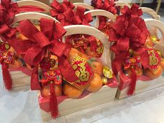Chinese Decorations, Chinese New Year Gifts, Prop Design, Fruits Basket, Lunar New, Hampers, Gift Baskets, Bouquets, Christmas Wreaths