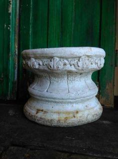 Oude Brocante Poer Pilaster Beton