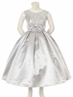 Any little girl will feel and look like a princess in this dress!