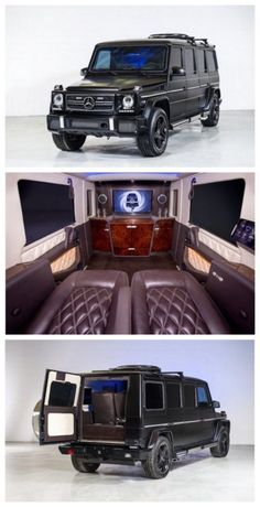The $1 million Mercedes-Benz Armoured Limo is the most Boss ride ever. Armour, guns, security it has it ALL! #spon #JamesBond