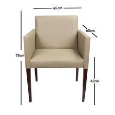 Foto 3 - Poltrona Corino Bege Escritório Sala Recepção Outdoor Chairs, Outdoor Furniture, Outdoor Decor, Diy Sofa, Sofas, Armchair, Kiosk, Pilates, Leo