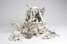 Mind Blowing Porcelain Art by Katharine Morling in art  Category