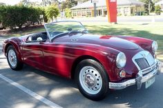 1959 MGA 1600 Roadster was sold by Shannons, Melbourne, on Monday, November Summer Classic Auction Great British, British Car, Mg Cars, British Sports Cars, Mk1, Cars And Motorcycles, Dream Cars, Melbourne, Classic Cars