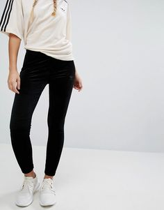 new style 78d32 e5e80 adidas Originals Velvet Leggings at asos.com