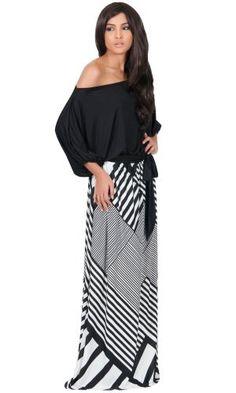 KOH KOH Women's One Shoulder 3/4 Sleeve Graphic Print Cocktail Maxi Dress, http://www.amazon.com/dp/B00XHK4ITY/ref=cm_sw_r_pi_awdm_RrzVvb1SZ5ZJK