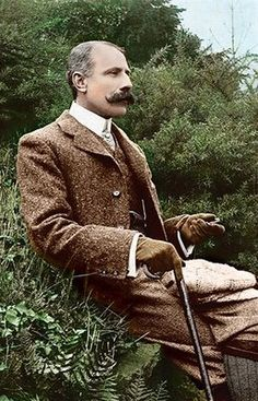 Edward Elgar. I like his style and his music