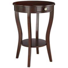 Lindsey Round Accent Table - #3J281   LampsPlus.com