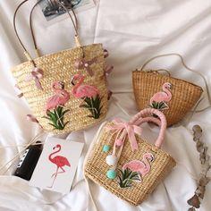 Flamingo Straw Beach Bag Summer Tote Square Handbags Flamingo Straw Beach Bag Summer Tote Square Handbags The post Flamingo Straw Beach Bag Summer Tote Square Handbags appeared first on Summer Diy. Color Type, Straw Tote, Basket Bag, Summer Bags, Summer Diy, Beach Tote Bags, Handmade Bags, Purses And Handbags, Shoulder Bag