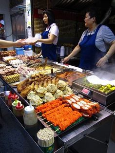 Food on street... Guangzhou