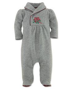 Ralph Lauren Baby Coverall, Baby Girls Yummy Fleece Sleep & Play - Kids Newborn Shop - Macy's