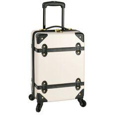 Diane Von Furstenberg Saluti Luggage DVF 18 Inch Spinner Carry On Suitcase  #DianevonFurstenberg