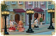 Streetlights for Sylvanian Families Town New Release June 2017 Japan