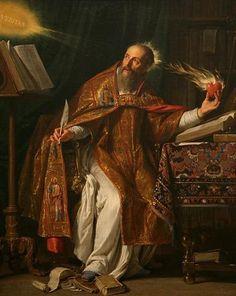 o: Saint Augustine por Philippe de Champaigne.j