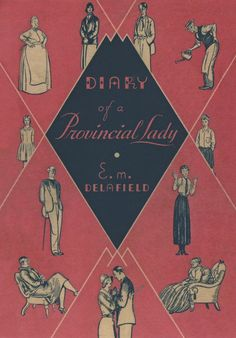 Diary of a Provincial Lady by E M Delafield | Persephone Books: Harper & Brothers, New York cover for  Diary of a Provincial Lady 1931
