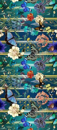 Inverno textile design from Adriana Barra, Brazil, 2013