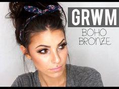 GRWM BOHO BRONZE | chocolate bar palette