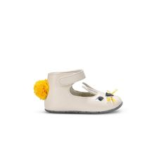 Cream Hopper Shoes  - STELLA MCCARTNEY KIDS