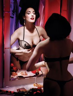 Dita Von Teese for Wonderbra, 2009