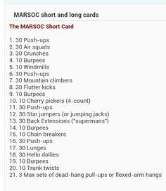 MARSOC Short card