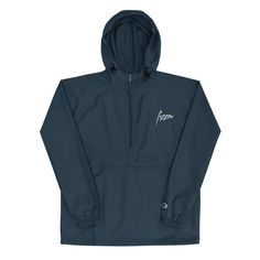 Start off 2021 with a little pizazz in the form of a limited-edition Signature Fizzm x Champion Packable Navy Blue Jacket. A lightweight and truly adjustable outerwear piece that will protect you from the elements in almost any environment.