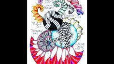 Diary of Tangles Week 15 - Prasima, Peacock, Ropuz, Dragonair, Carpet Da...