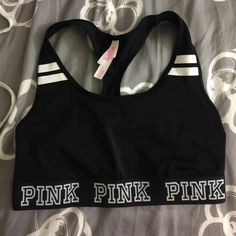 VS Pink Sports Bra Only been worn a few times! PINK Victoria's Secret Intimates & Sleepwear Bras