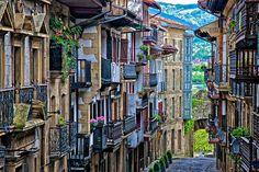Hondarribia, Spain. .