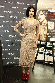 "Kat Von D - Sephora Presents Kat Von D's First Solo Art Show ""New American Beauty"" At Sephora Portland June 7, 2012"
