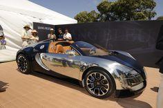 Fastest Car Make In Mexico | Bugatti Veyron Grand Sport Sang Bleu