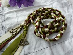 Celtic triquetra knot hand fasting wedding by dancingwithbadgers