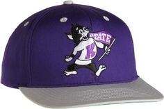 NCAA Kansas State Wildcats Vintage College Snap Back Team Hat, Purple, One Size